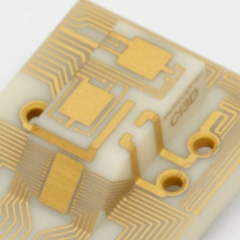 Ceramic 3D interconnect devices - 3DIC